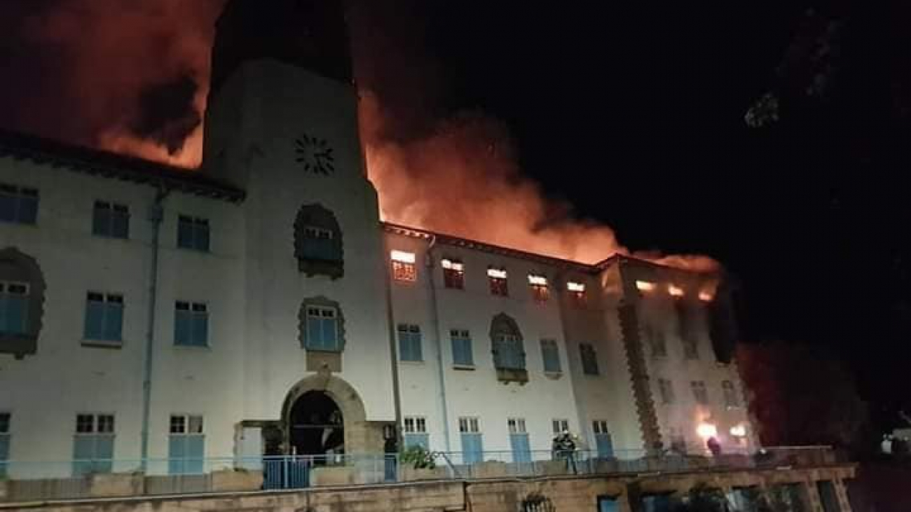 makerere on fire