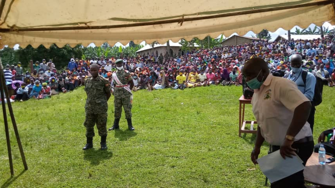 UPDF solidier before court